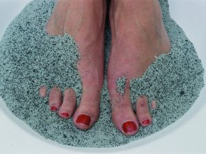 Sandbad mit Magnetfeldtherapie
