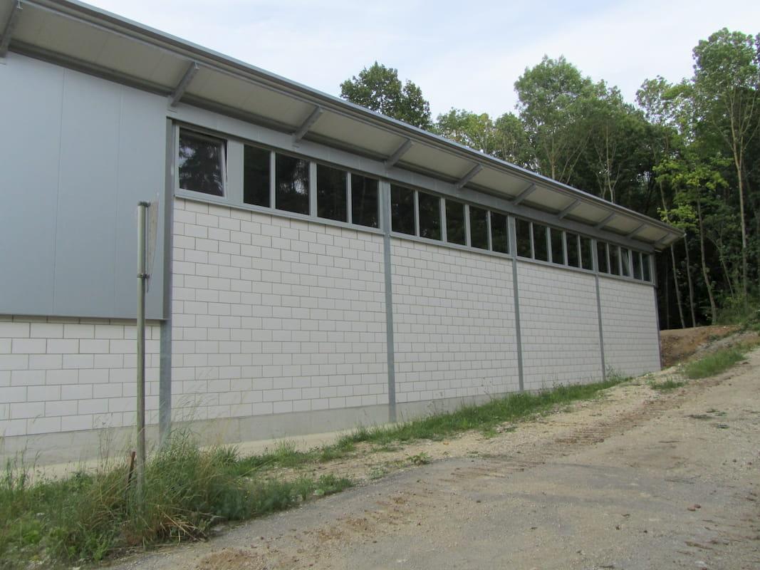 Lagerhalle aus Kalksandstein in Wemding